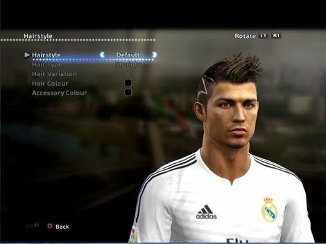 360aaf4c137 SANTARA PES: PES 2013 Cristiano Ronaldo New Hair by Momen Alaa