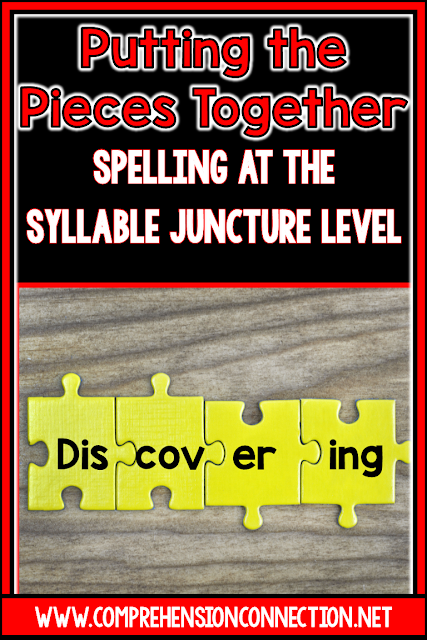 This post includes setting up and organizing word study for the syllable juncture speller. It includes organizational tips, teaching sequences, what's taught, and how it fits with the other reading components.(FREEBIES)