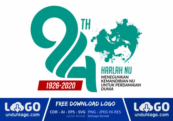 Logo Harlah NU 94 Tahun 2020