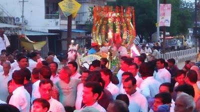 हर्षोल्लास से मनाई गई अग्रवाल समाज द्वारा महाराजा अग्रसेन जयंती | Bairad News
