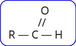 rumus umum aldehid