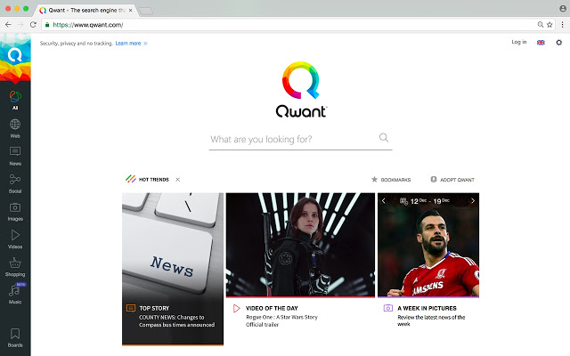 Qwant : A new European search engine in pursuit of Google