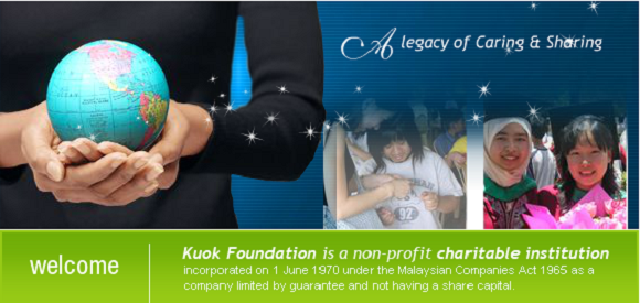 Kuok Foundation scholarship awards to study in Malaysia or Singapore public universities