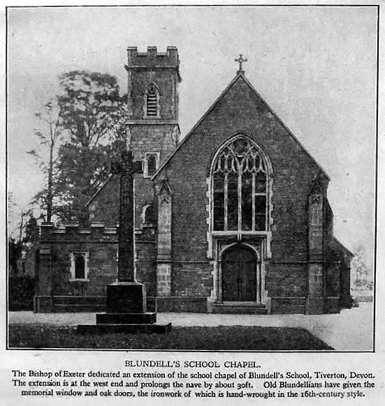 Blundell's School Chapel Extension