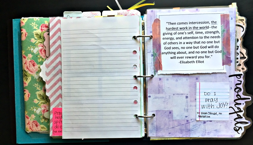 stone soup for five what s in my prayer binder part 2