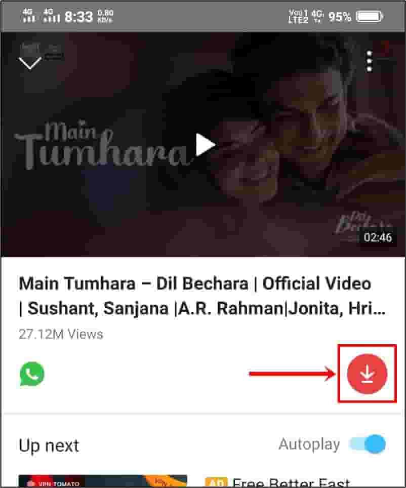 vidmate gana download karne wala