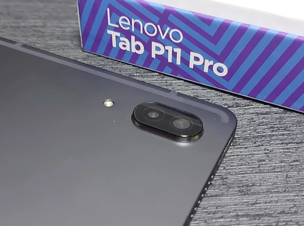 Lenovo Tab P11 Pro Dual Rear Cameras