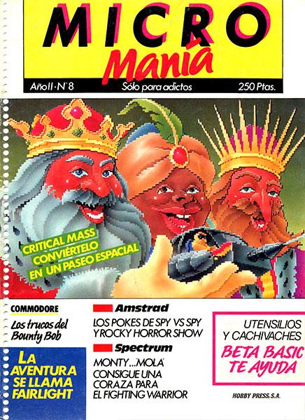 Revista Micromanía Número 8