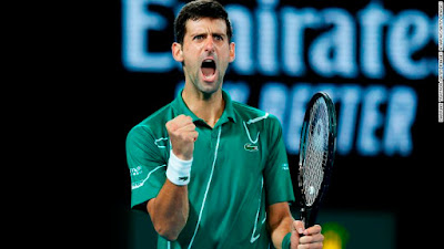 Djokovic tiếp tục vô địch australia open 2020
