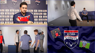 PES 2020 Ross County Polo Shirts & Track Suits by PESWilliam