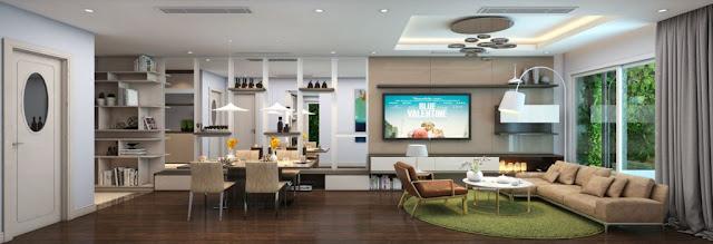 Hình ảnh căn hộ mẫu tại Booyoung Vina