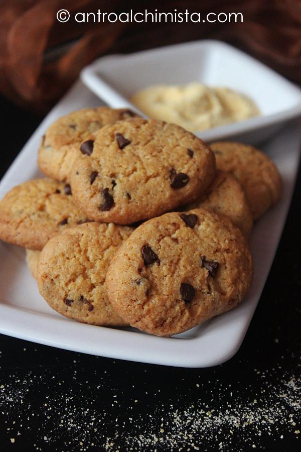 Biscotti con Farina di Mais e Olio Extravergine d'Oliva
