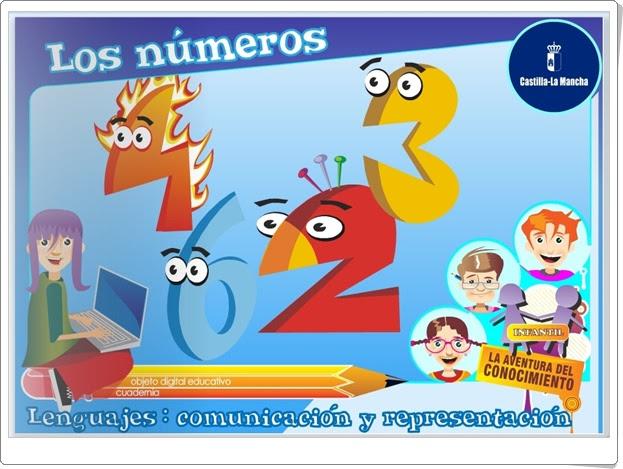 """""""Los números para Educación Infantil"""" (Junta de Castilla la Mancha)"""