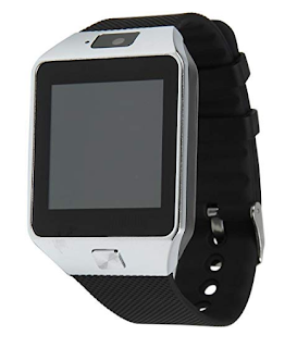 krazilla bluetooth smart watch for android phones kzw08 silver