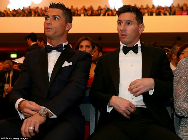 Ronaldo, Messi Leads FIFA World XI Nominees.. Checkout the full list of Nominees