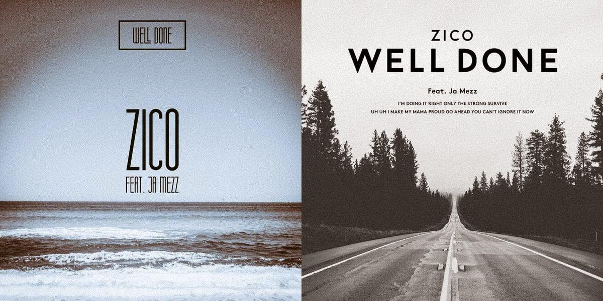 """Block B Zico Merilis Gambar Teaser Untuk Single Baru """"Well ..."""