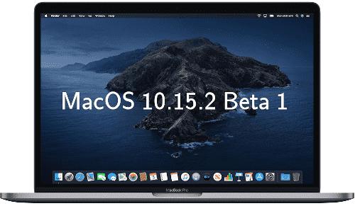 الاصدار التجريبي الاول من MacOS Catalina 10.15.2 متاح للاختبار