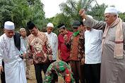 Kpt Inf Zulkarnaini Menghadiri Peletakan Batu Pertama Pembangunan Ponpes Raudhotul Ulum
