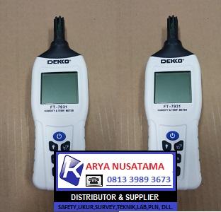 Jual DEKKO FT-7931 Humidity Meters Ori di Palembang