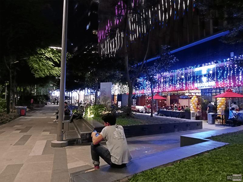Huawei Y6s low light