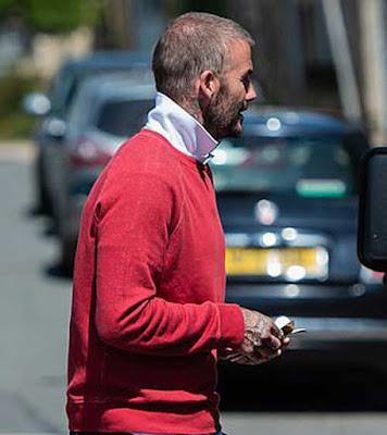 """Beckham lộ đầu hói gây sốc, """"xuống mã"""" nghiêm trọng sau cách ly Covid-19 2"""
