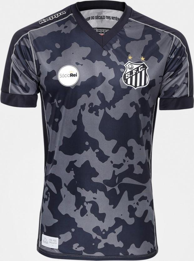 Kappa lança a nova terceira camisa do Santos - Show de Camisas fb8851e1aed2e