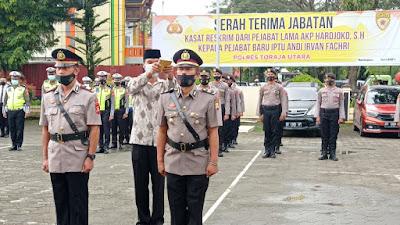 Jabatan Kasatreskrim Polres Toraja Utara di Serahterimakan
