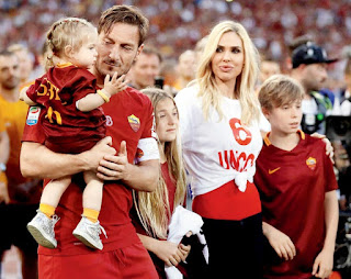 Totti And Family