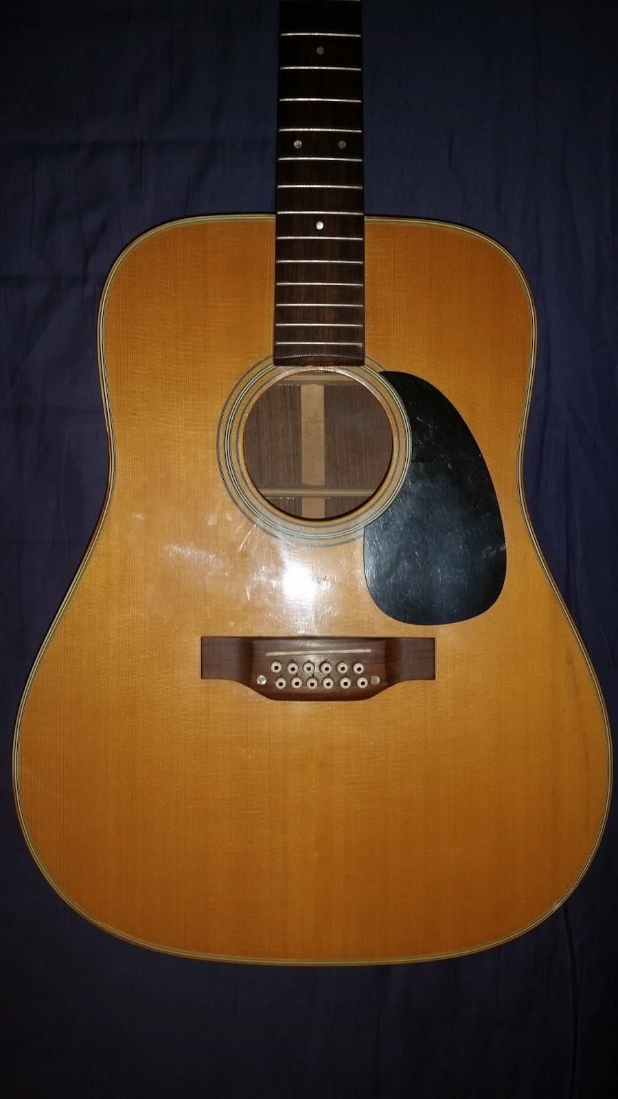 Socal Gear Museum 1975 Takamine F400s 12 String Acoustic Guitar
