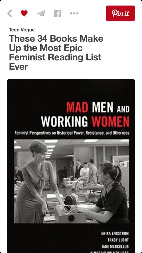 Women's Page History: Our Mad Men Book: Teen Vogue's List of ...