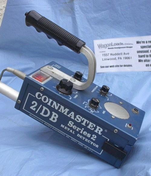 Détecteur métaux Coinmaster 2 DB série 2 Whites