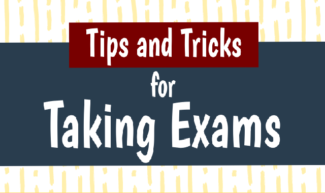 Tips And Tricks For Taking Exam #infographic