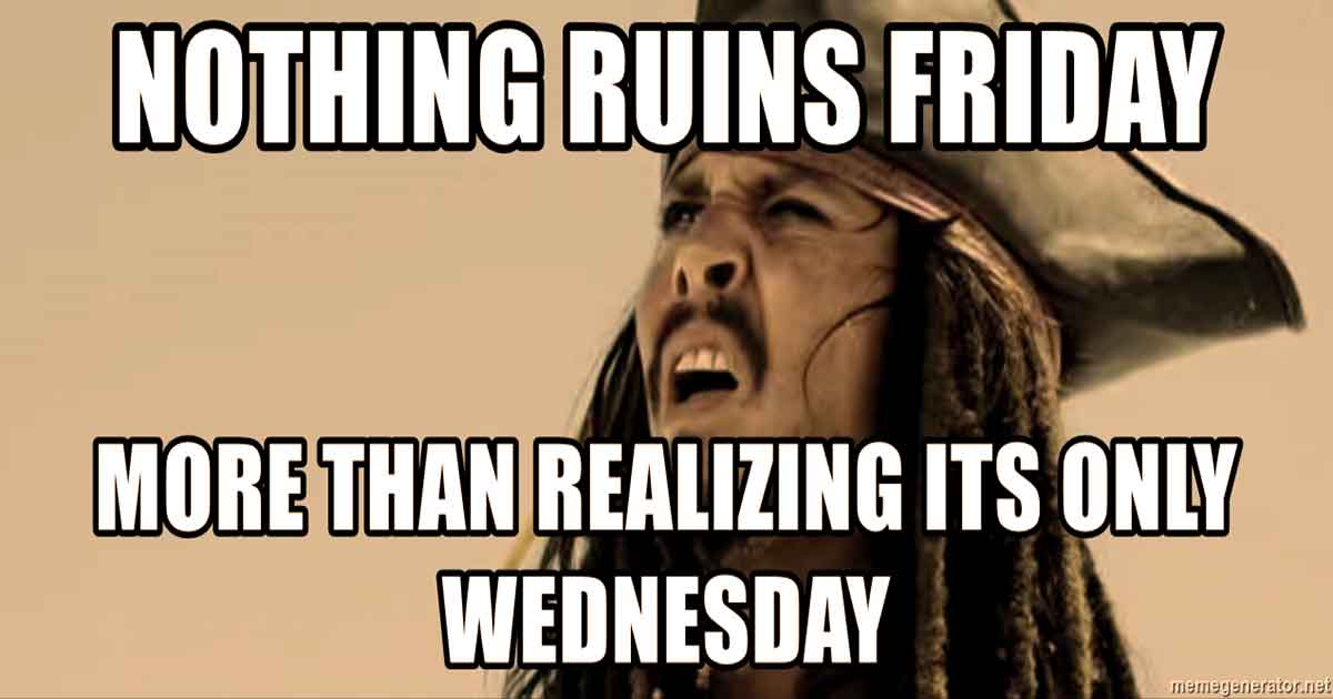It's Wednesday, Funny & Happy Wednesday Meme with Wednesday Quotes
