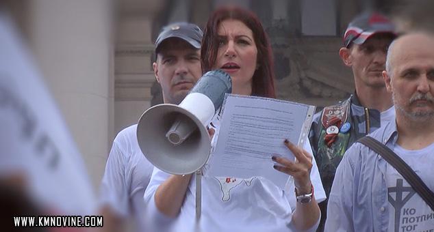#Živim_za_Srbiju #Protest #Pink #Kosovo_i_Metohija #Beograd #Srbija #Jovana_Stojković #Televizija #Pink