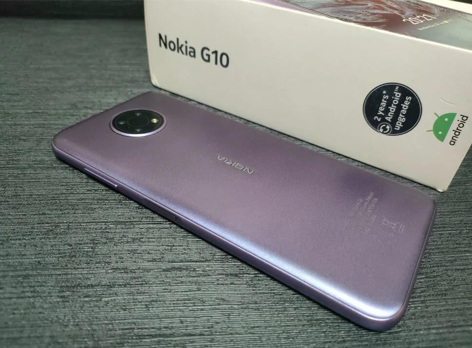 Nokia G10 Dusk Colorway