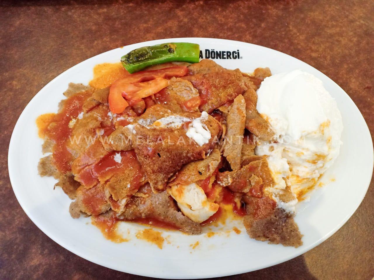 Iskender Kebab Turkey