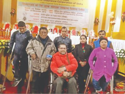 Aids, appliances for differently-abled