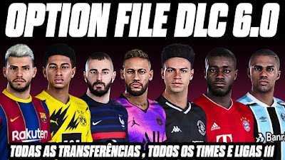 PES 2021 PS4 Option File by DitoPlay