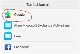 Cara Membuat Email Gmail di Android 4