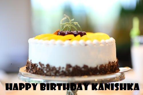 Happy Birthday Kanishka Cake HD images Download Free