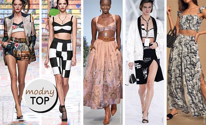 moda lato 2021 topy