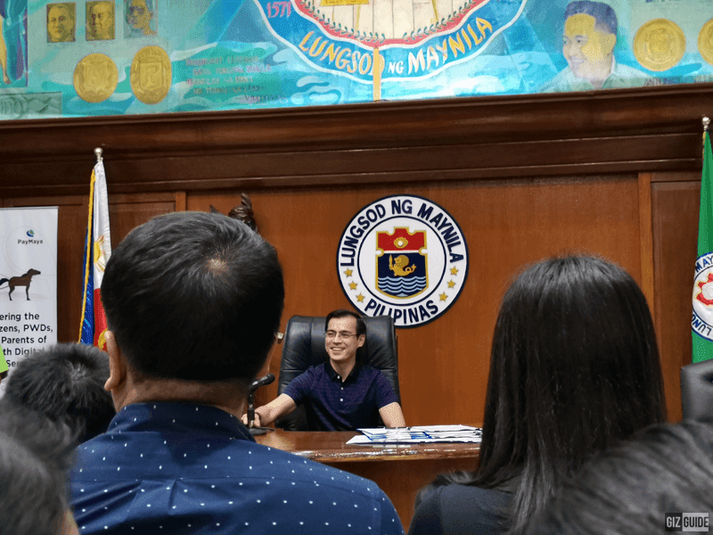 Moreno sharing his vision for the Manila government