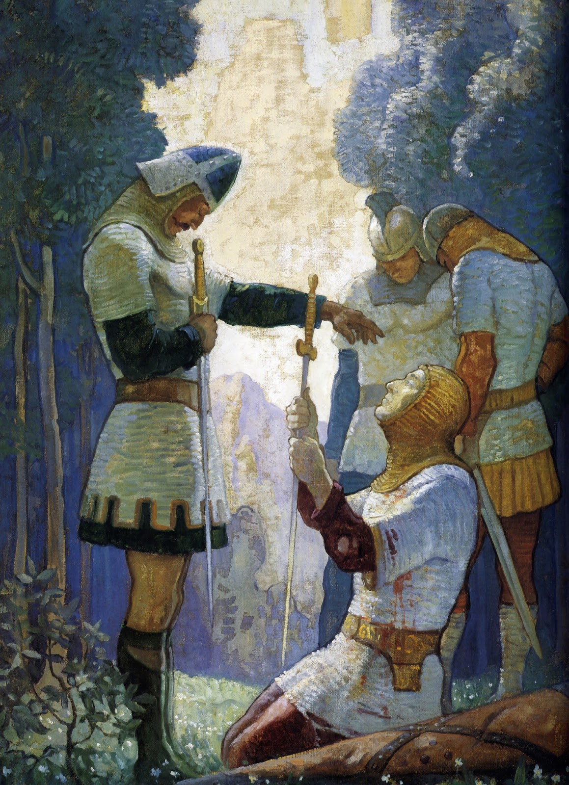 ART  ARTISTS N C Wyeth
