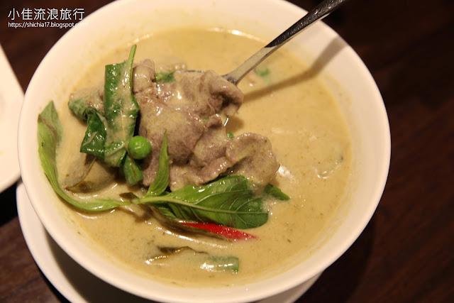 泰獅泰式料理,綠咖哩牛