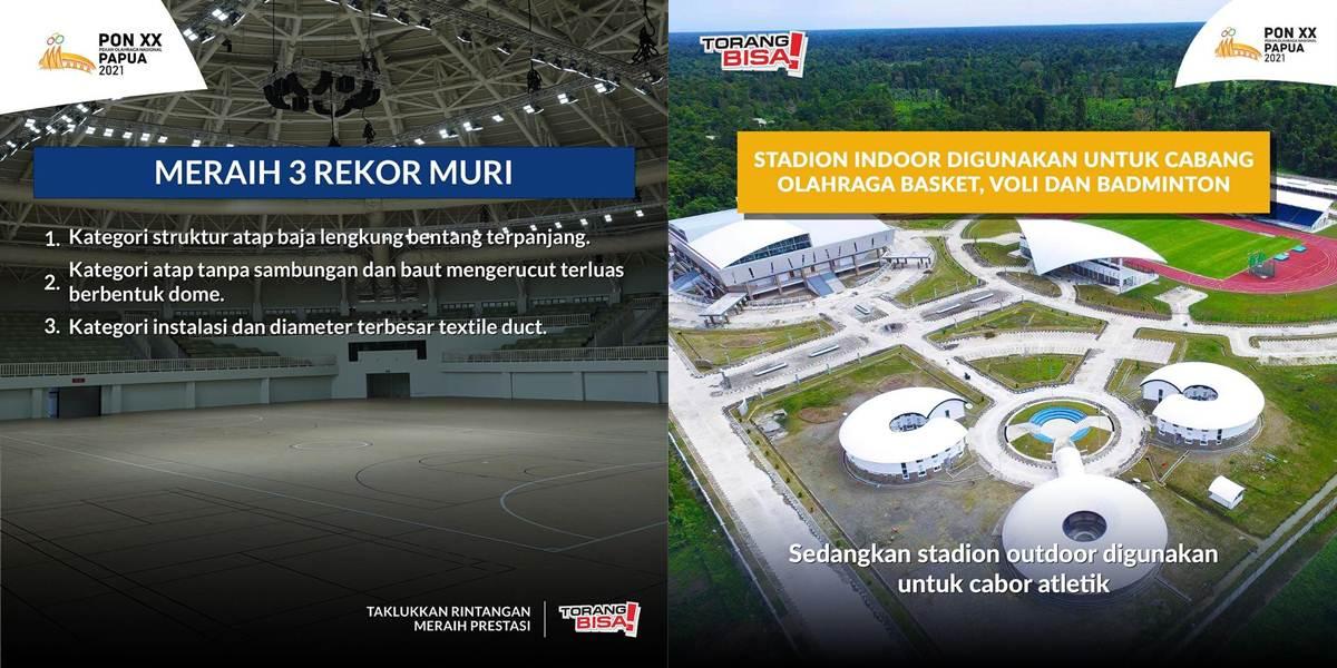 Istora Papua Bangkit - Mimika Sport Center