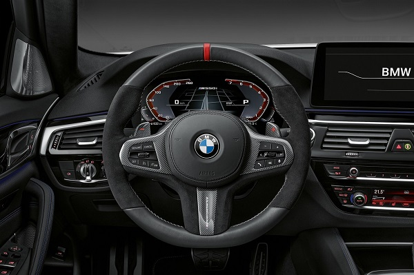 BMW Serie 5 M Sport Edition Interior 2021