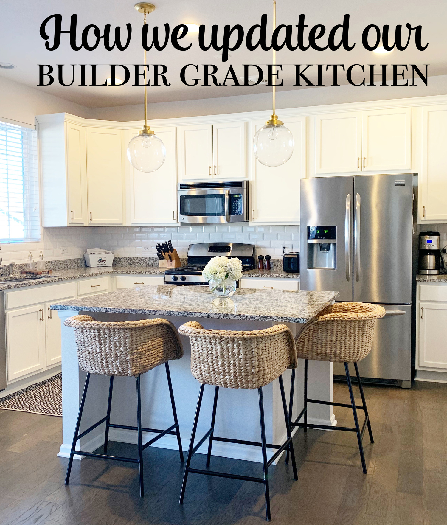 How we upgraded our builder kitchen