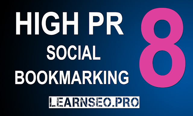 HIGHPR 8 Social Bookmarking Sites
