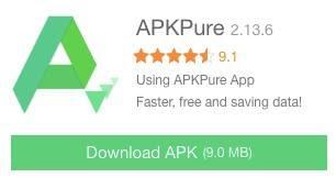 APKPure - Aplikasi Unduh Game Android Terupdate