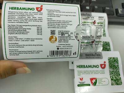 Herbamuno+ Mustika Ratu